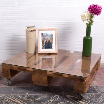 Jardinera de palets ecodeco mobiliario - Mobiliario con palets ...