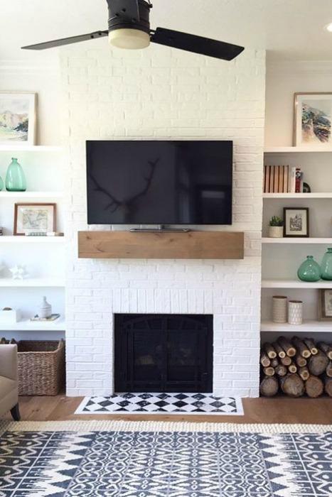 Revestimiento para la chimenea ecodeco mobiliario - Revestimiento de chimeneas ...